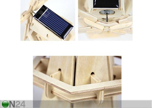 Gerardo`s Toys 3D palapeli SOLAR TUULIMYLLY