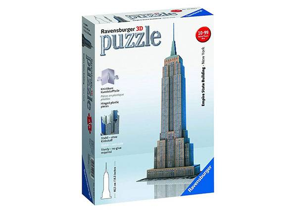 Image of RAVENSBURGER 3D palapeli EMPIRE STATE BUILDING