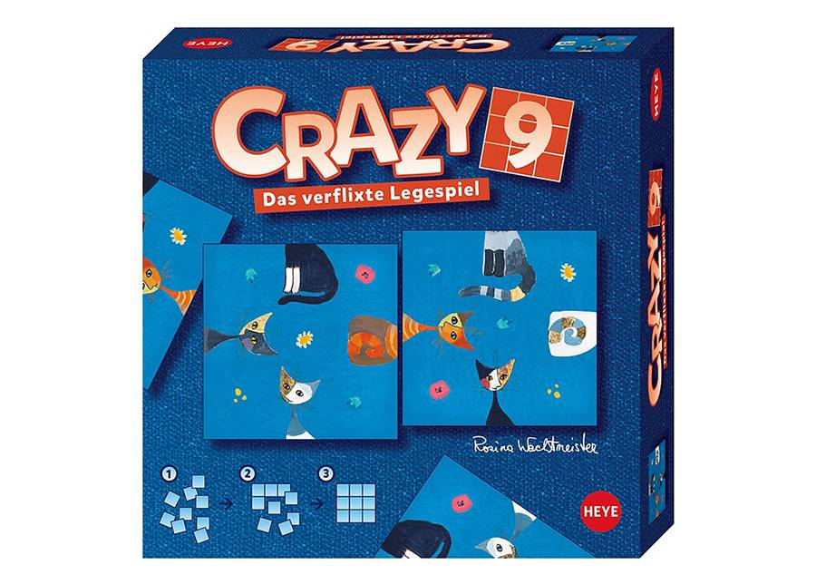 Heye Pöytäpeli Crazy9 Wachtmeister Cats