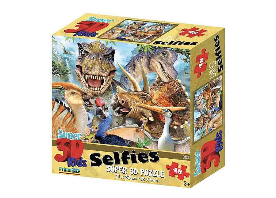 Kidicraft Palapeli 3D Dinosaurukset Selfies 48 osaa