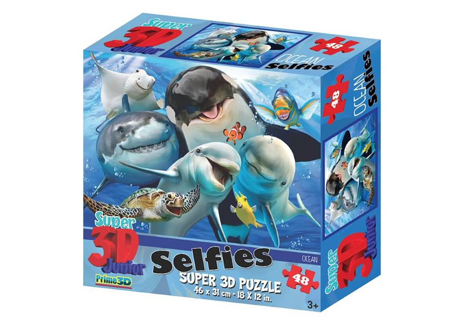 Kidicraft Palapeli 3D Ocean Selfies 48 osaa