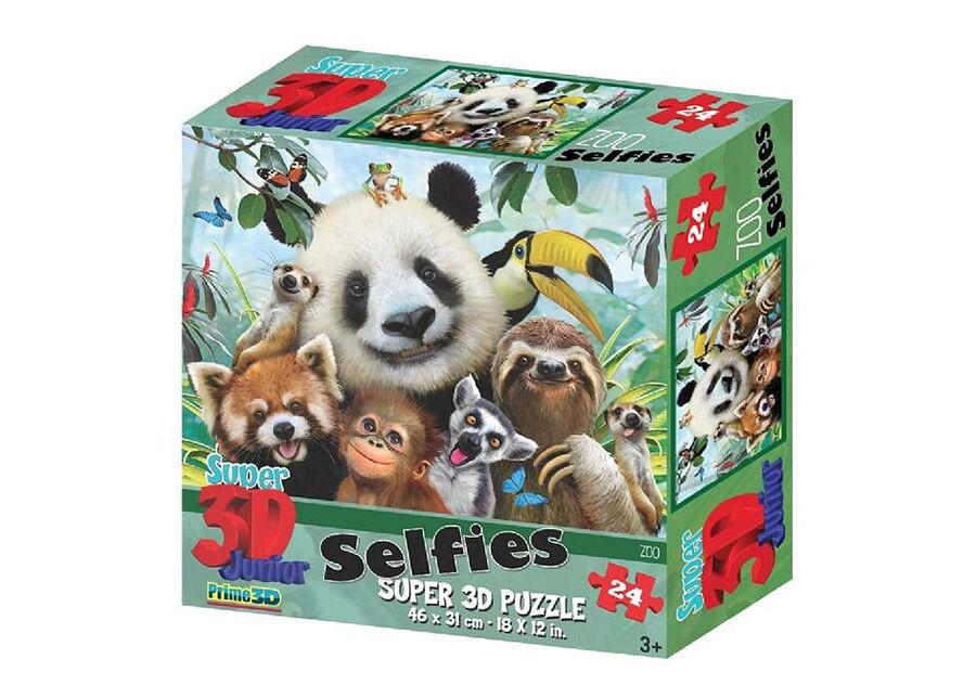 Kidicraft Palapeli3D Zoo Selfies 48 osaa