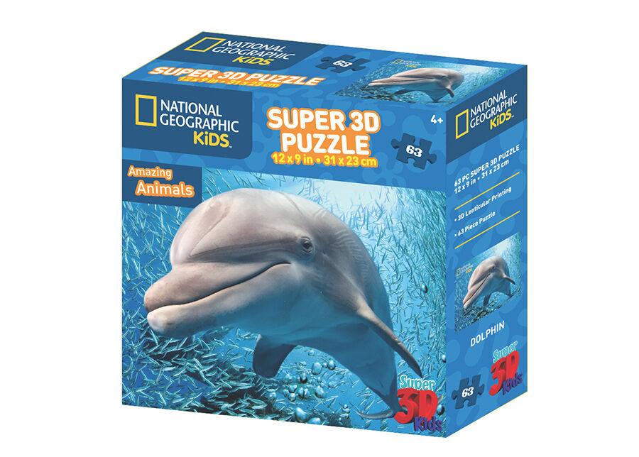 Kidicraft Palapeli 3D Delfiini 63 osaa
