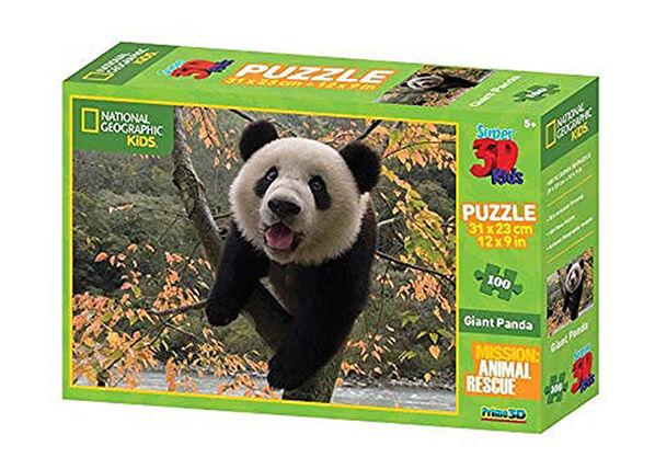Kidicraft Palapeli 3D Panda 100 osaa