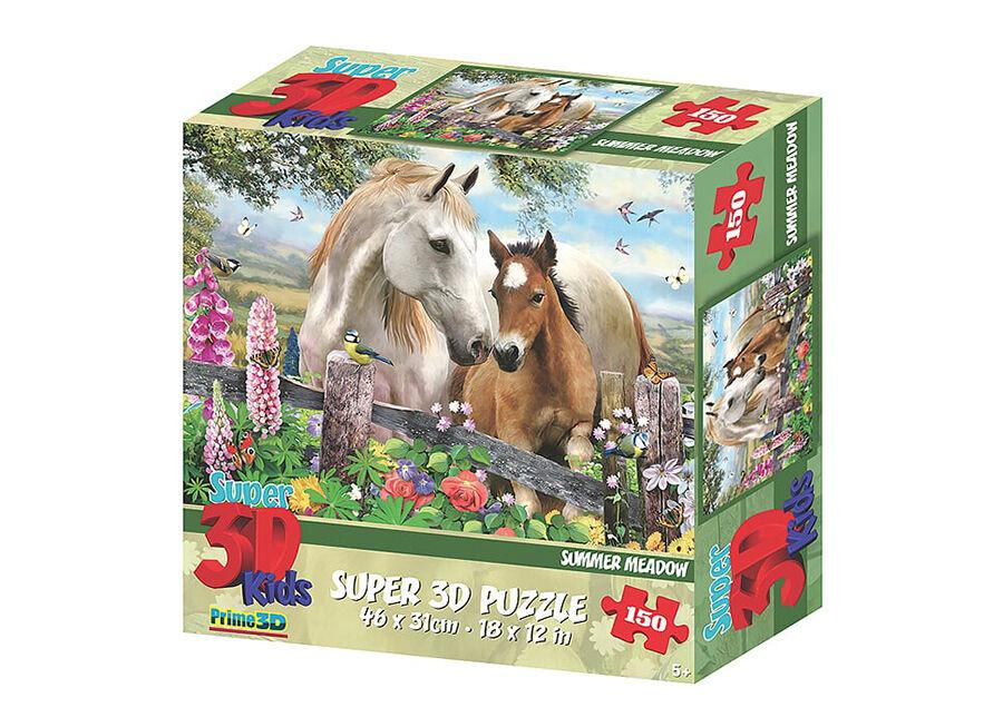 Kidicraft Palapeli 3D Hevoset 150 osaa
