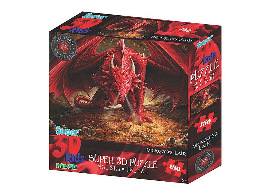 Kidicraft Palapeli 3D lohikäärme 150 osaa