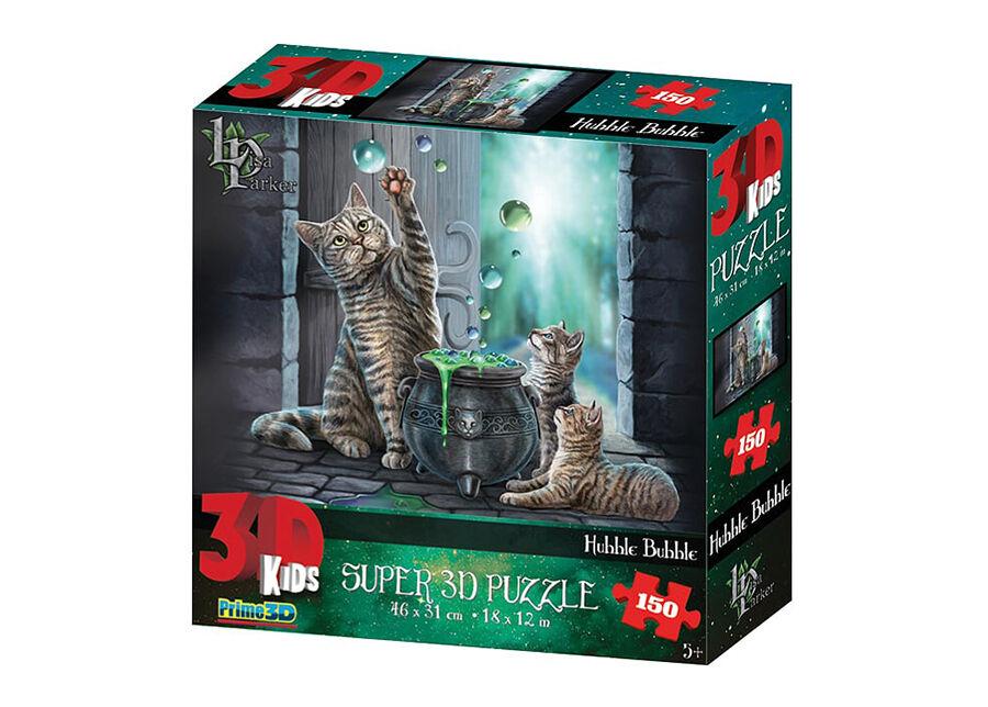 Kidicraft Palapeli 3D Kissat 150 osaa