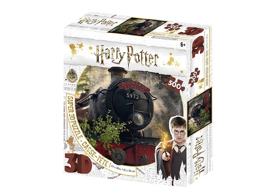Kidicraft Palapeli 3D Hogwarts express 500 osaa