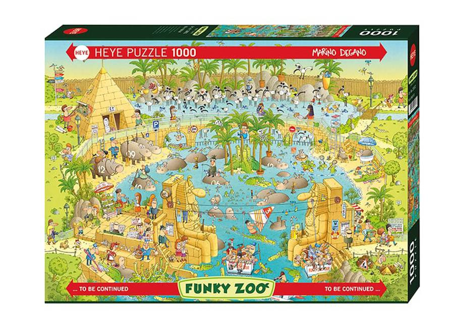 Heye Palapeli Nile Habitat 1000 osaa