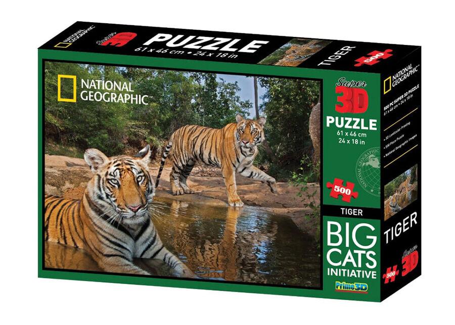 Kidicraft Palpeli 3D Tiikerit 500 osaa