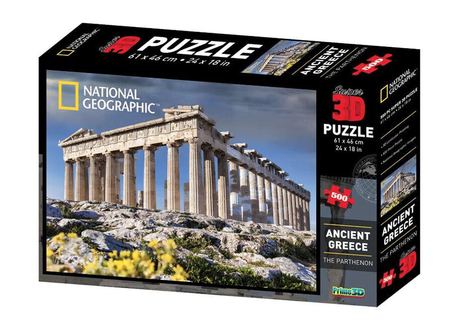 Kidicraft Palapeli 3D Vanha-Kreikka 500 osaa