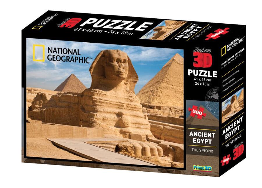 Kidicraft Palapeli 3D Vana-Egiptus 500 osaa