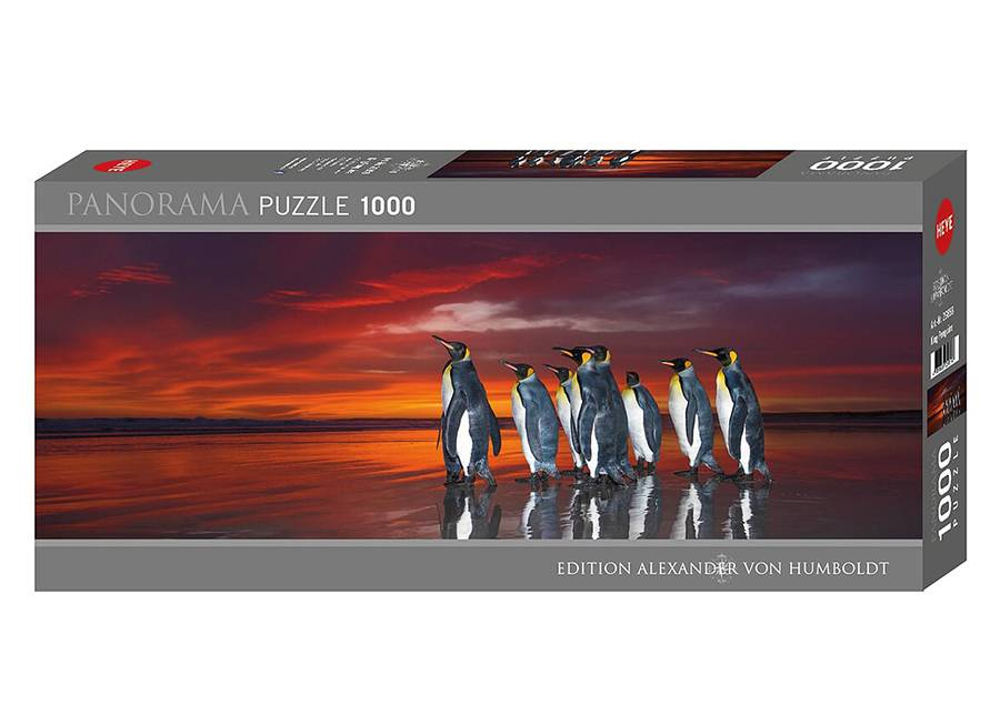 Heye Palapeli King Penguins 1000 osaa