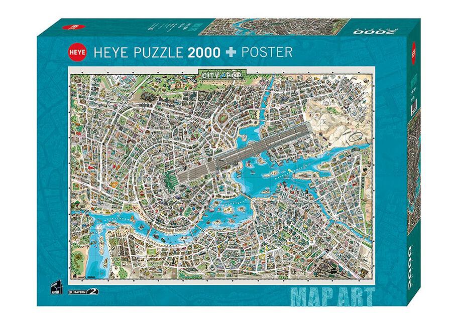 Heye Palapeli City of Pop 2000 osaa