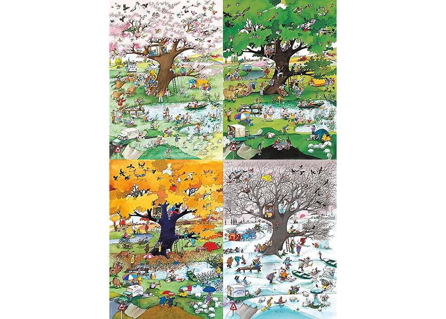 Heye Palapeli 4 Seasons Cartoon Classics 2000 osaa