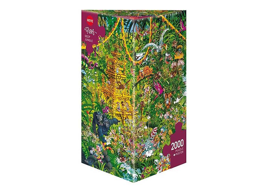 Heye Palapeli Deep Jungle 2000 palaa