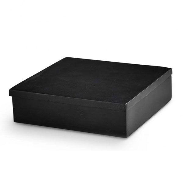Nordstjerne Soap Stone Säilytyslaatikko, Small, Musta