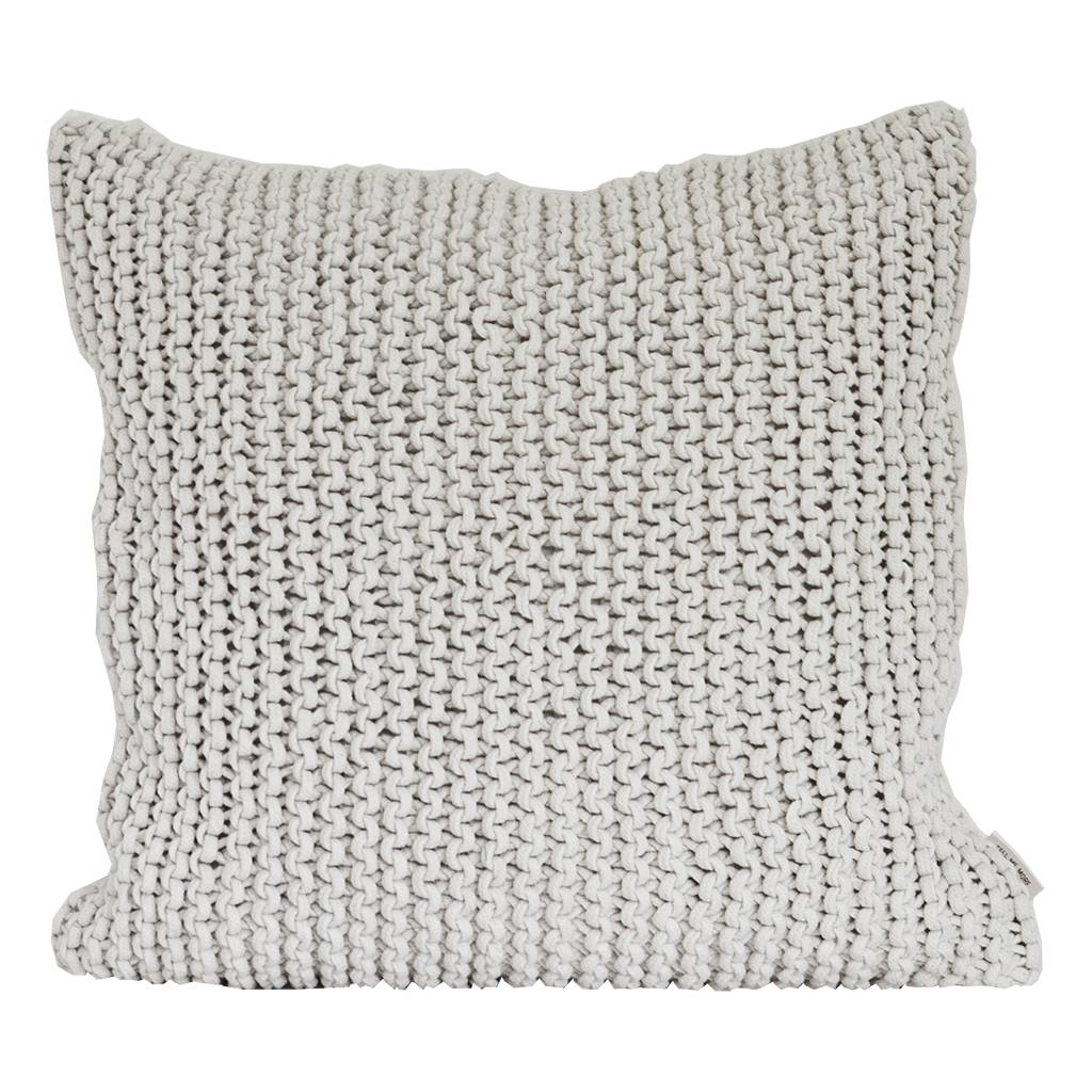 Tell Me More Rope Cushion Cover 50x50 cm, Offwhite