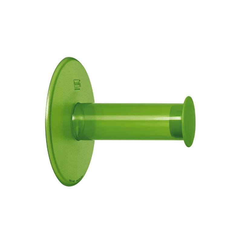 Koziol Plug N Roll WC-Paperinpidike, Oliivinvihreä