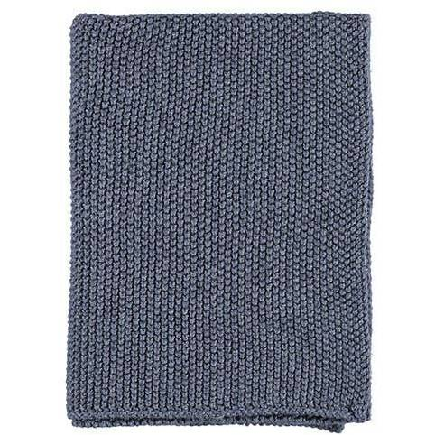 Gripsholm Knitted Dishcloth, Ombre Blue