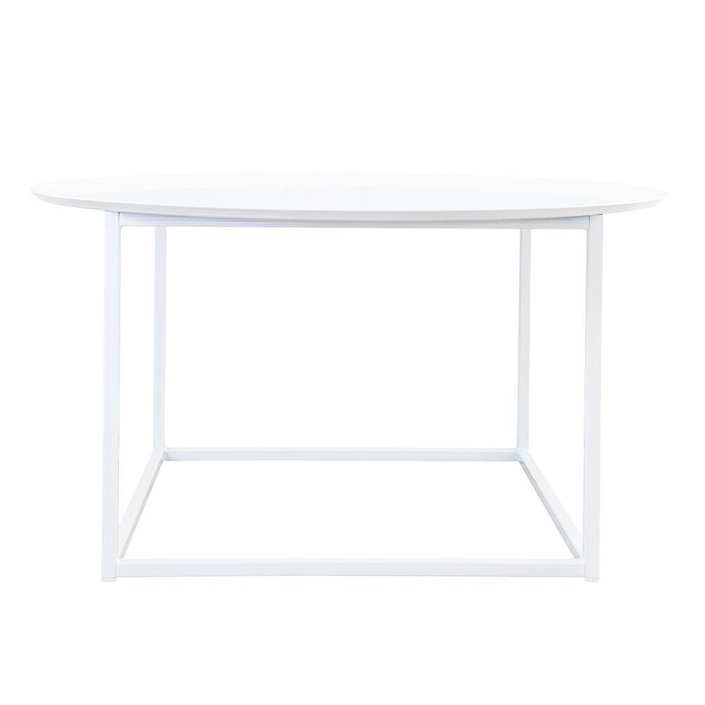 Domo Design Domo Round Square Pöytä L, Valkoinen