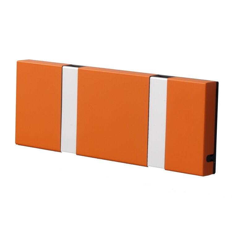 LoCa Knax 2 vaatekoukut, oranssi