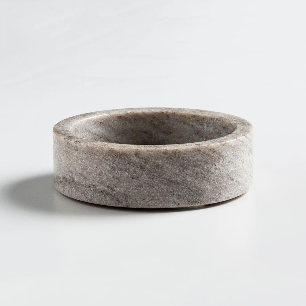 Nordstjerne Brown Marble Kynttilänjalka, Small, Ruskea