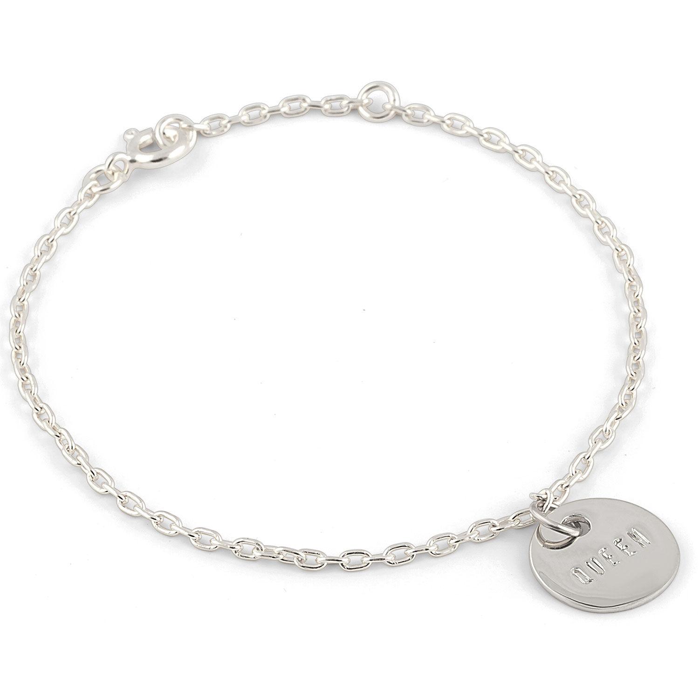 Emma Israelsson Queen Coin Bracelet, Silver