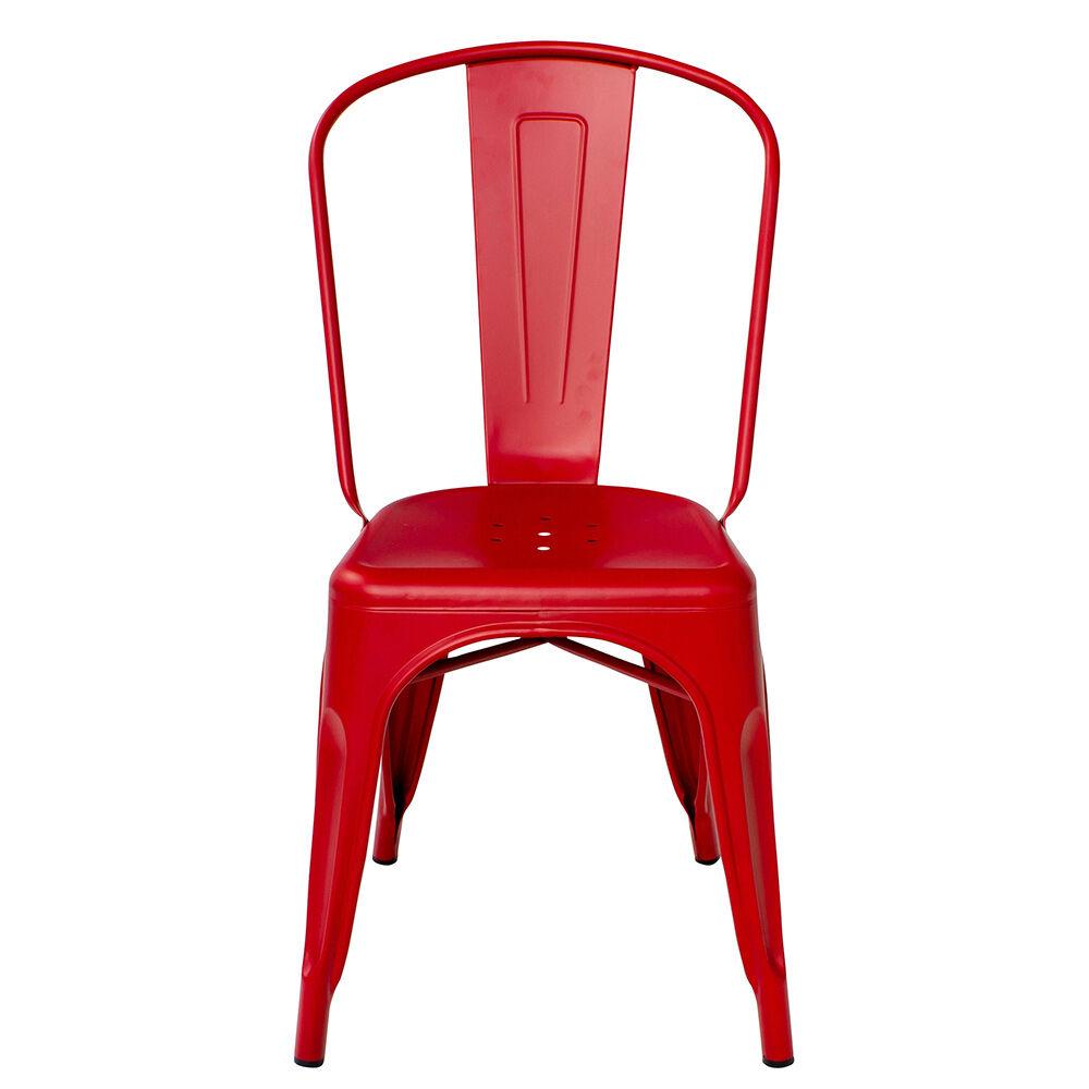Tolix Tuoli A Punainen/Matta