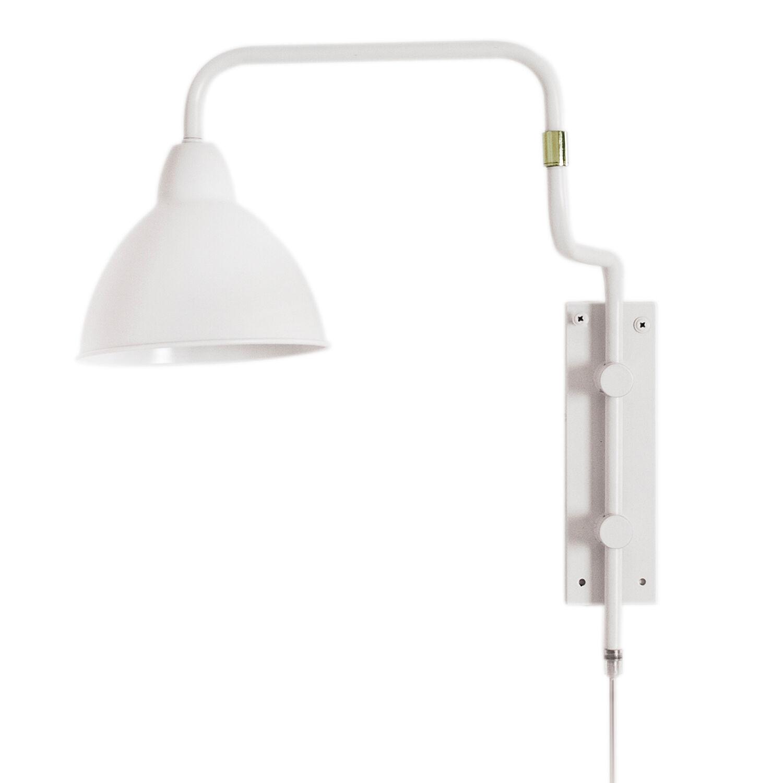 Rydéns By Rydéns Brighton Wall Lamp, White Matt