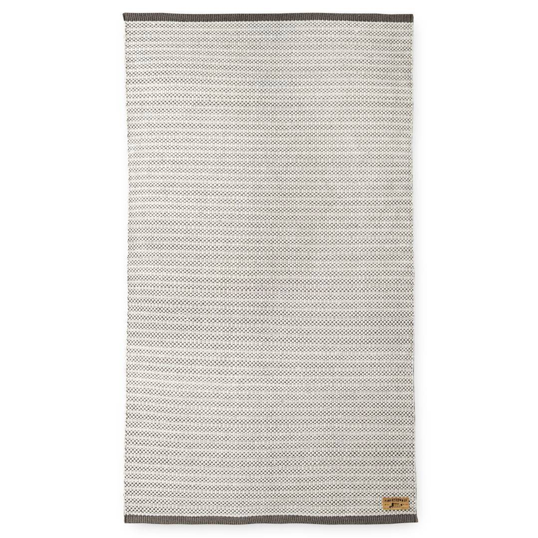 Finlayson Siperia Rug 90x150 cm, White/Grey