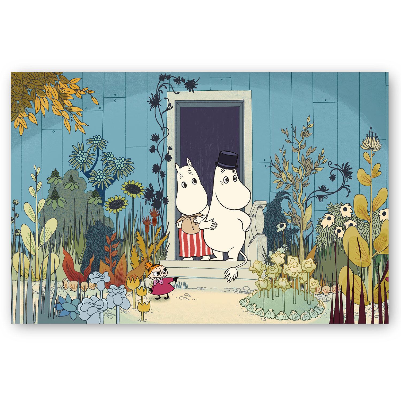 Opto Design Moomin Doorstep Juliste