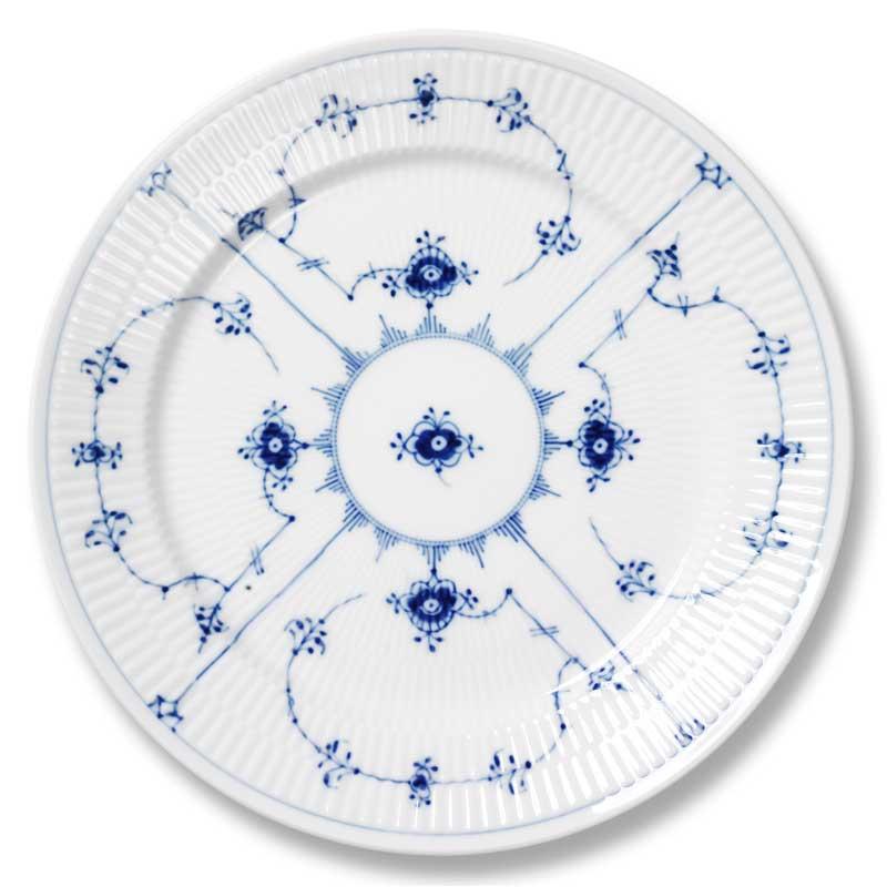 Royal Copenhagen Blue Fluted Plain Asetti 19 cm