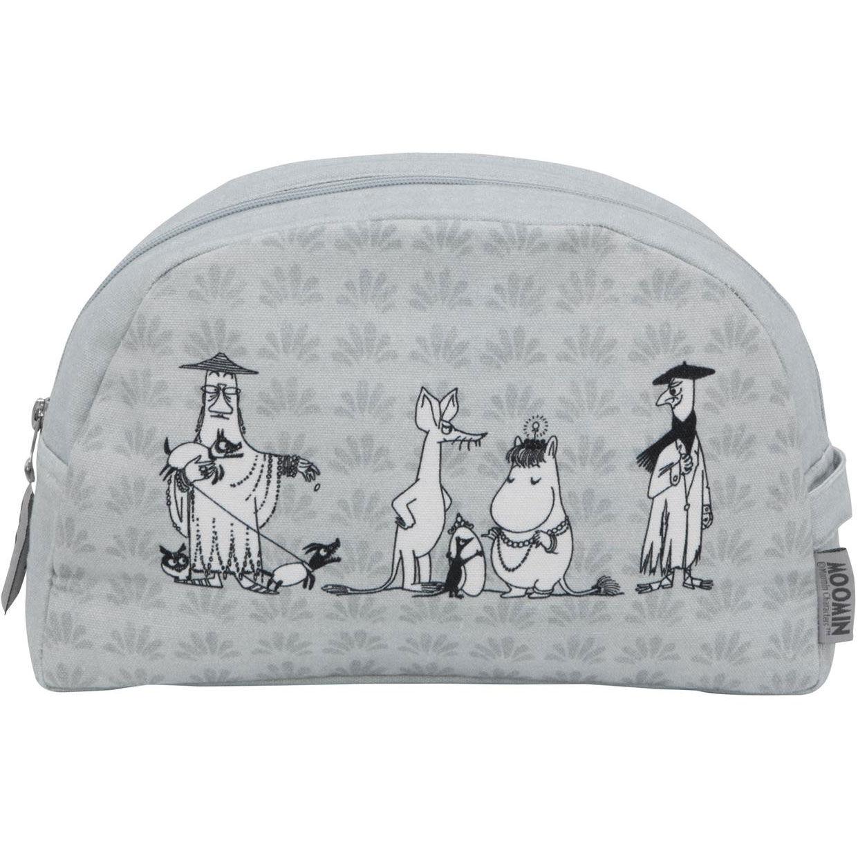 Moomin Moomin Toiletry Bag, Grey/Blue