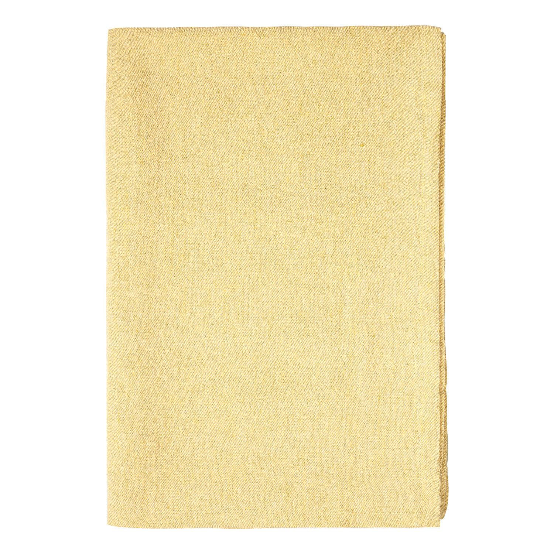 Linum Hedvig Pöytäliina 170x330cm, Mustard Yellow