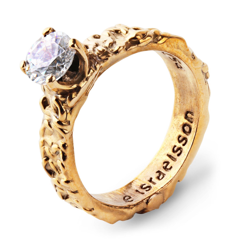 Emma Israelsson Small Princess Ring 17.5 mm, Bronze
