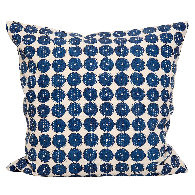 Afroart Gear Tyynynpäällinen 50x50 cm, Sininen/ Valkoinen