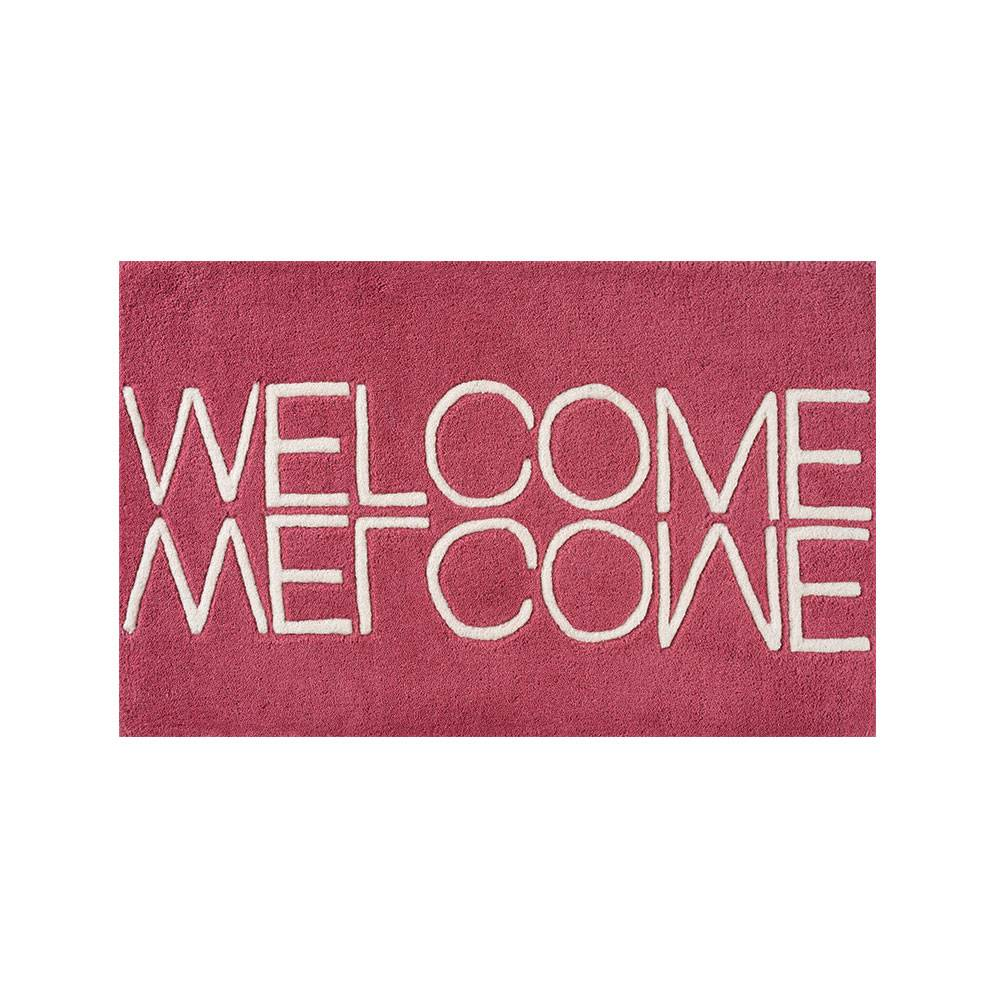 Linie Design Welcome Ovimatto 50x80cm, Pink