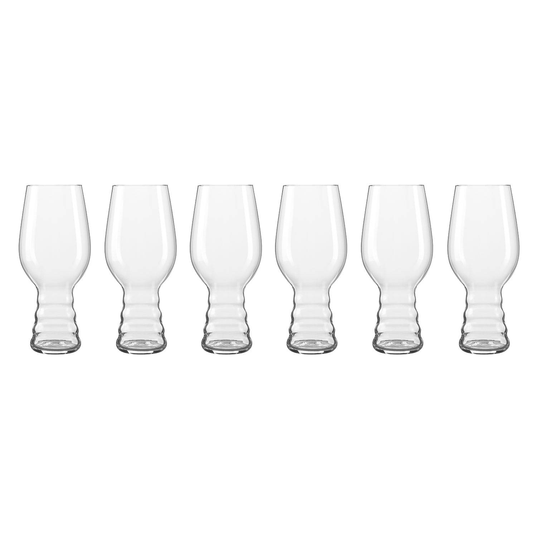 Spiegelau Beer Classics IPA 54 cl 6-pakkaus, Kirkas