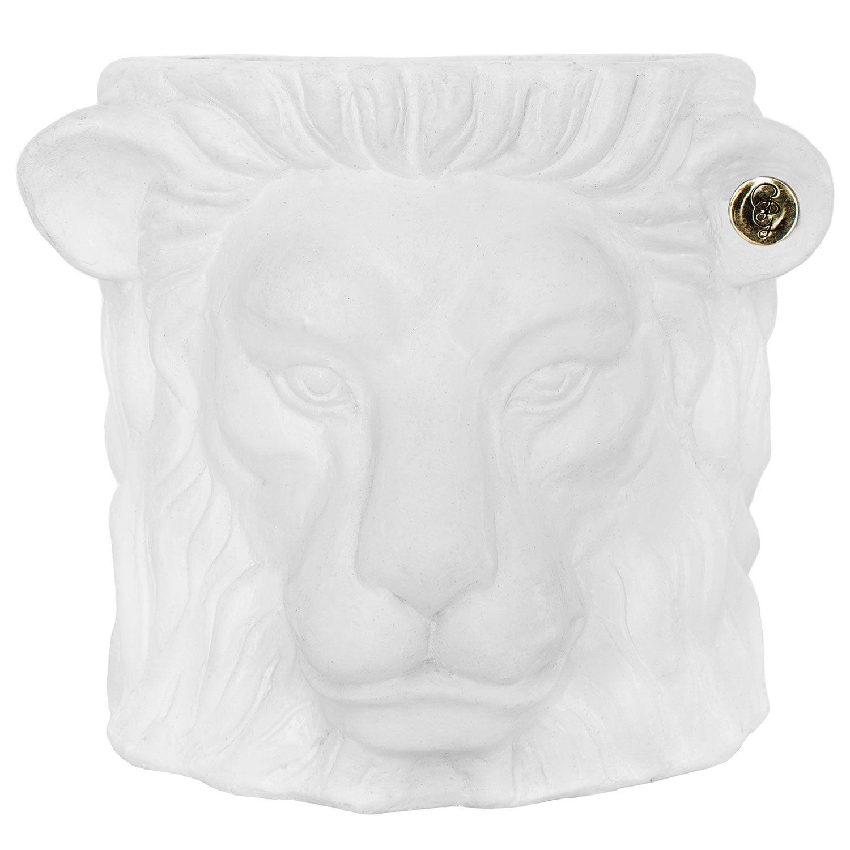 Garden Glory Garden Glory Lion Pot Ruukku S, Valkoinen
