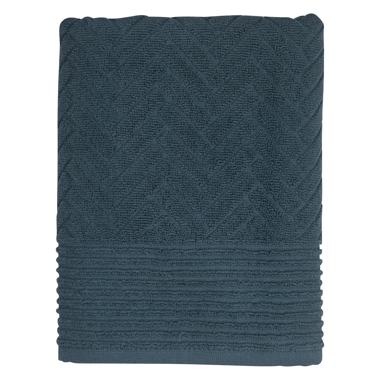 Mette Ditmer Brick Kylpypyyhe 70x133cm, Midnight Blue