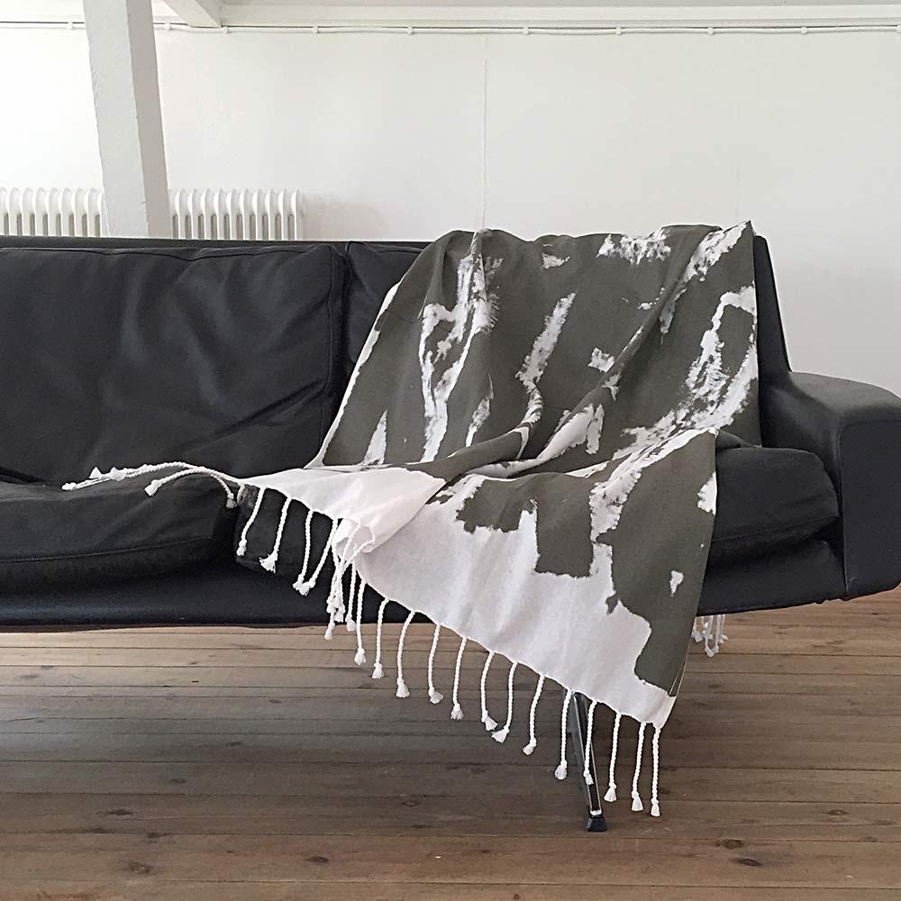 Ylva Skarp Get Lost Huopa 100x170 cm, Vihreä
