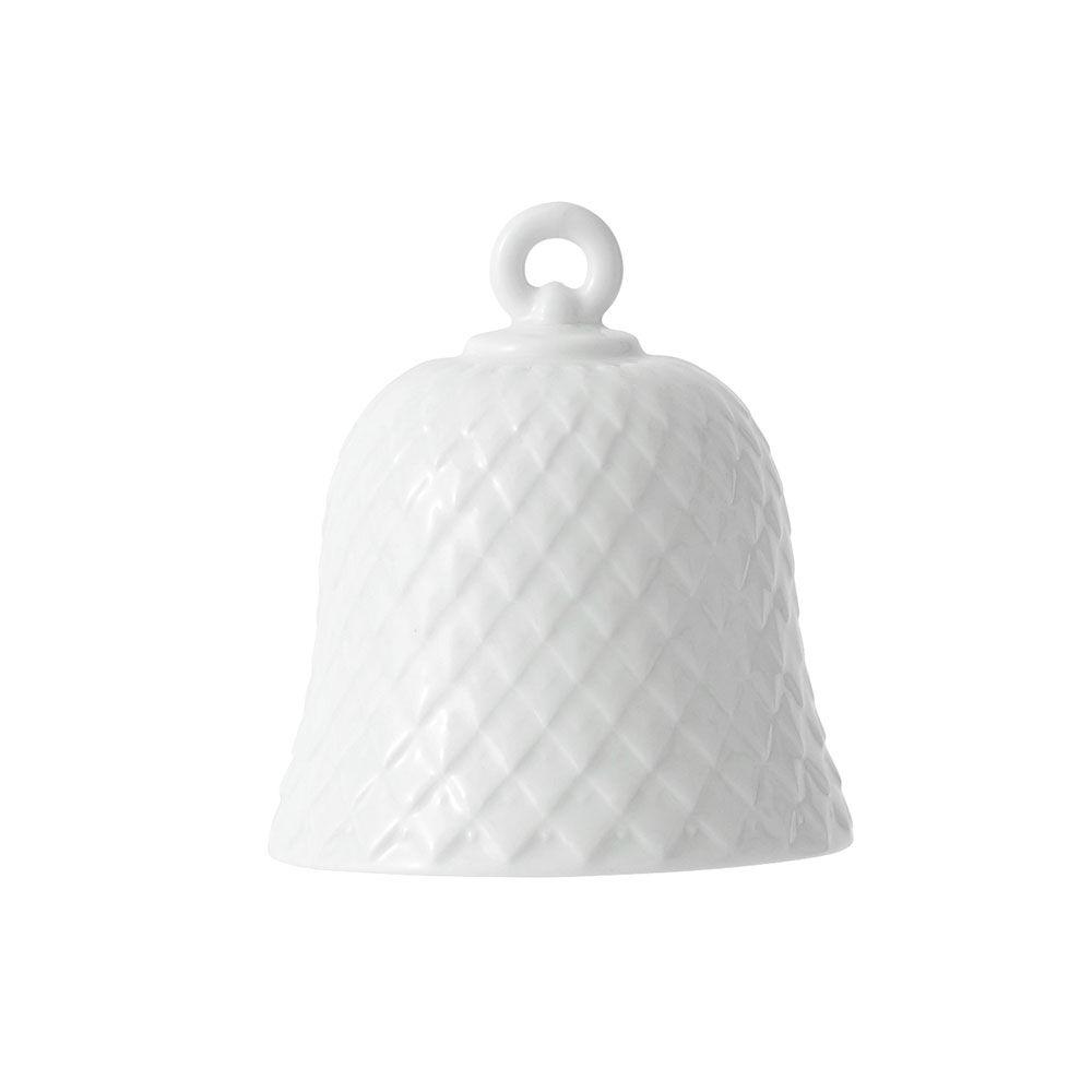 Lyngby Porcelæn Rhombe Bell, Valkoinen