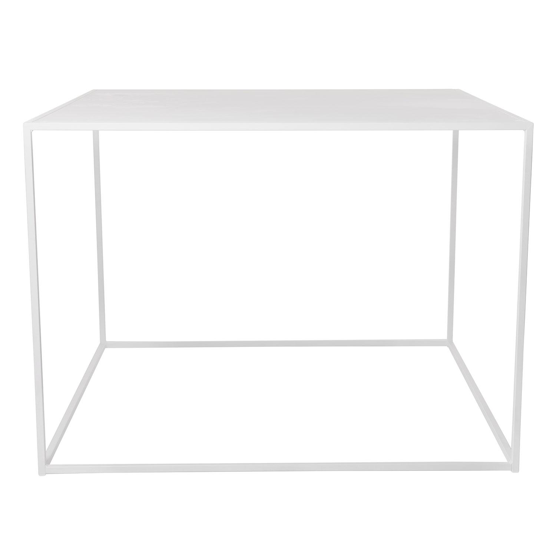 Domo Design Domo High Square Ruokapöytä 100x100x73cm Valkoinen