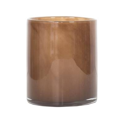 Tell Me More Lyric Candleholder M, Brown