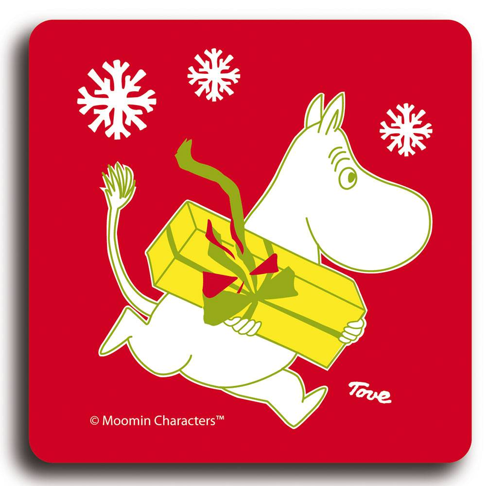Opto Design Muumi Lasinalunen, Christmas Moomin