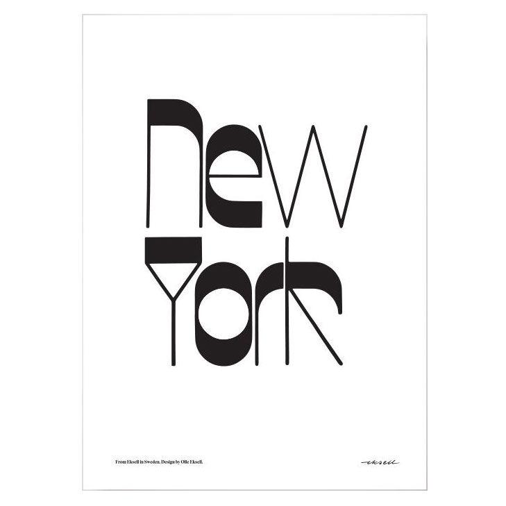 Olle Eksell New York Juliste 50x70cm