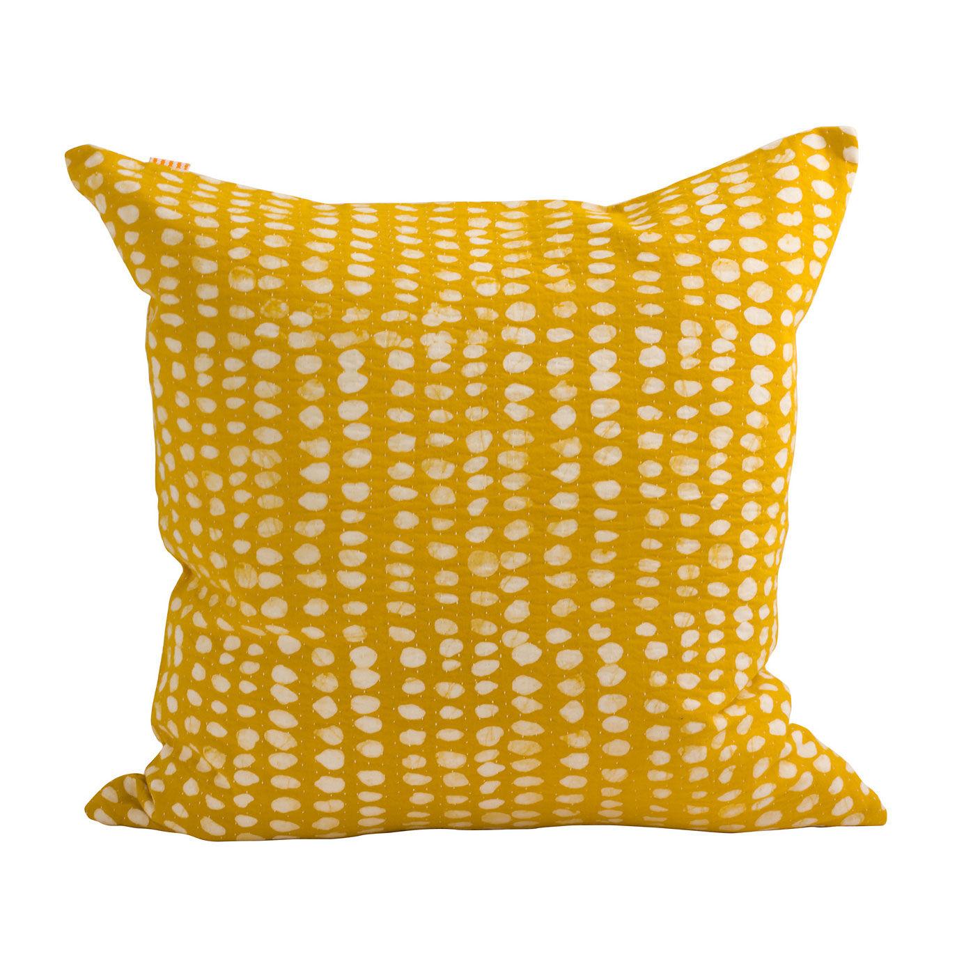 Afroart Spot Tyynynpäällinen 50x50cm, Keltainen