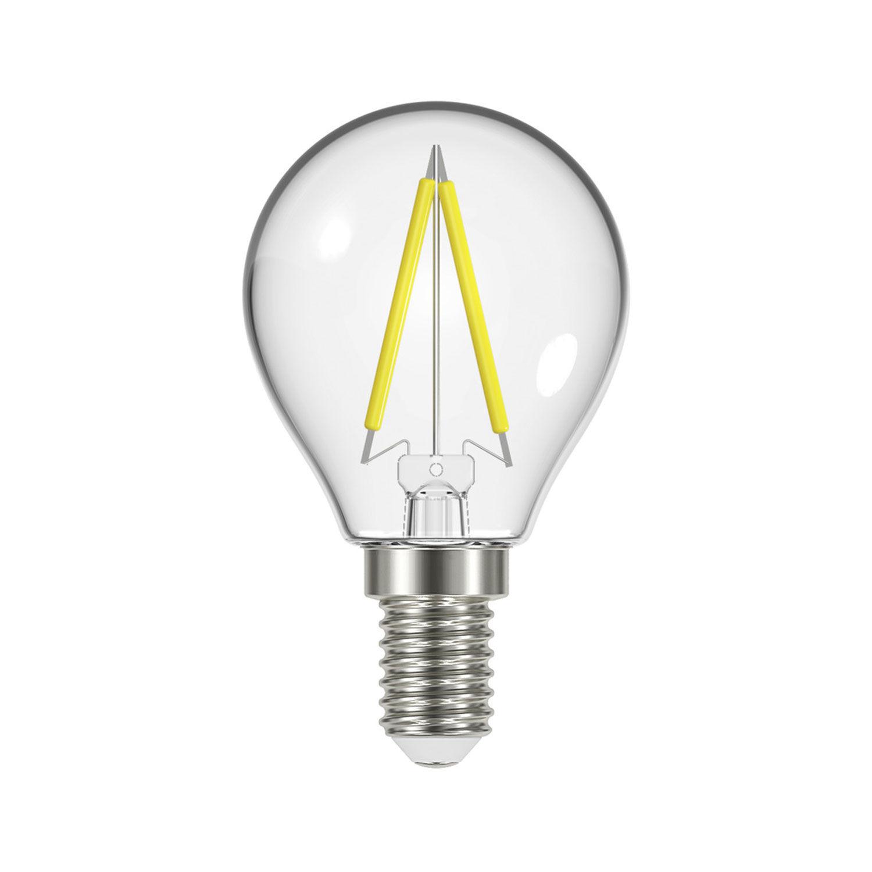 Airam LED-filamenttipallolamppu P45 E14 2,6 W, 3-pack