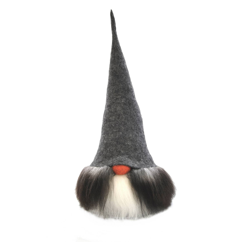 Åsas Tomtebod Olle Gnome 80 cm, Grey